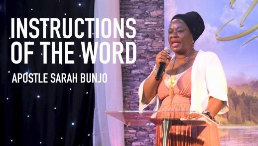 INSTRUCTIONS OF THE WORD