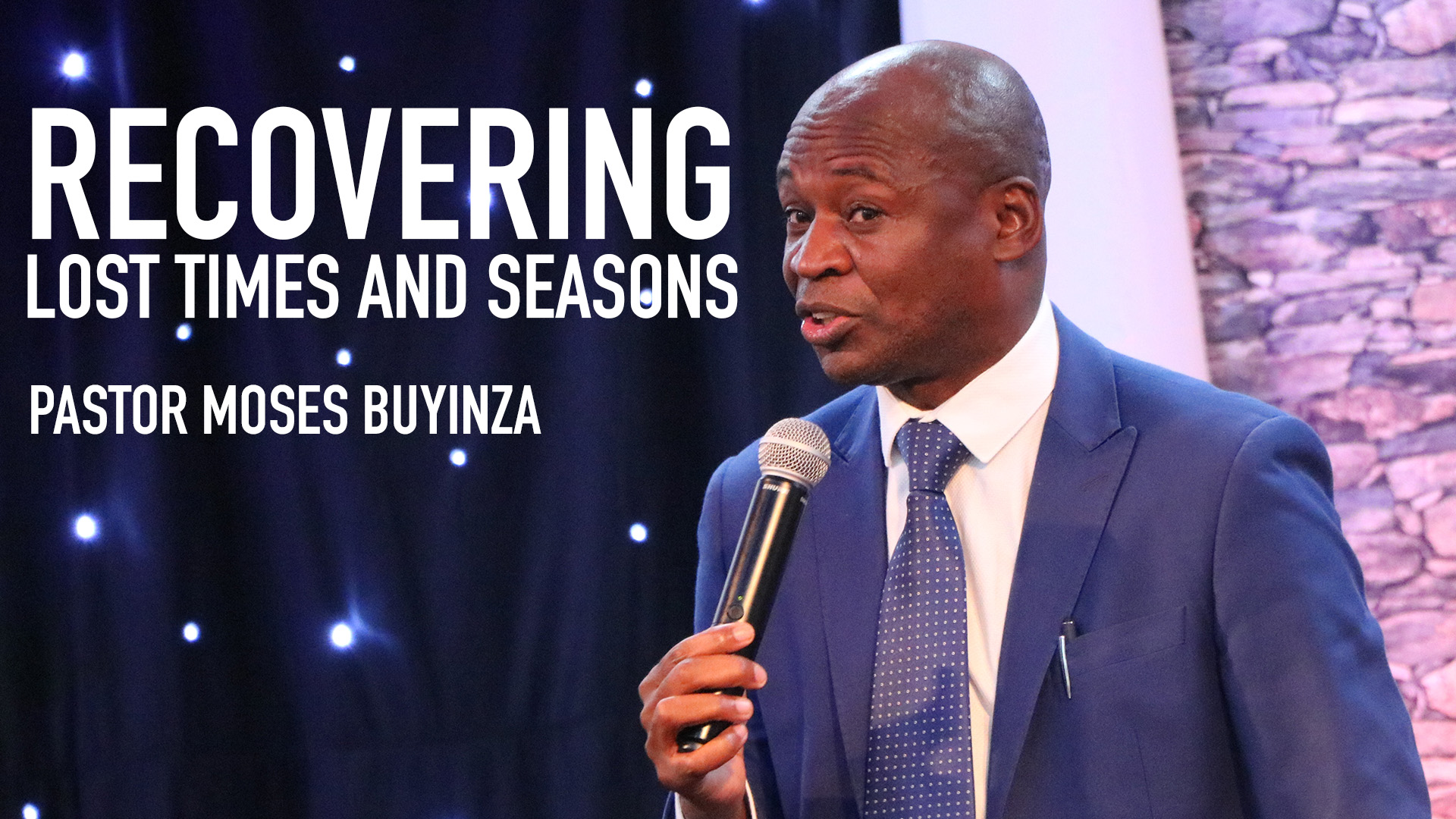 RECOVERING LOST TIMES AND SEASONS